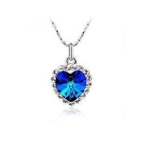 Crystal Titanic Pendant Necklace